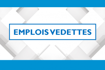 Emplois vedettes turquoise